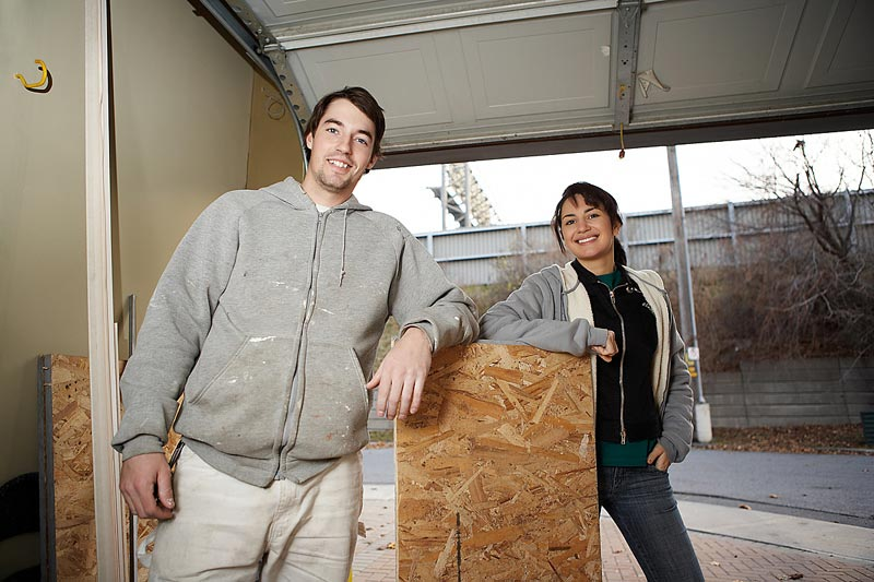 Hurrican Plywood Window Protection