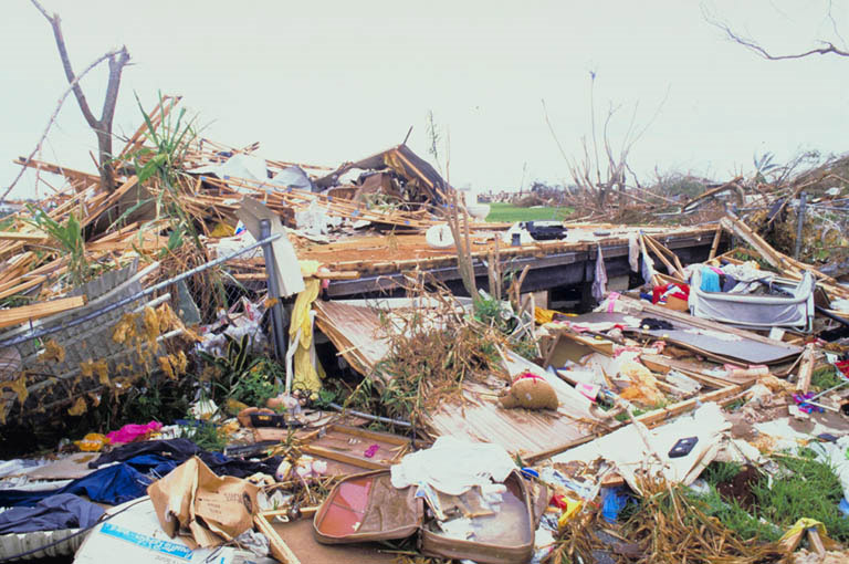 Vulnerable to hurricane damage